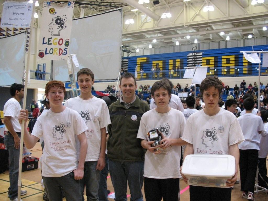 Team photo of 2008 Lego Lords at NCaFLL