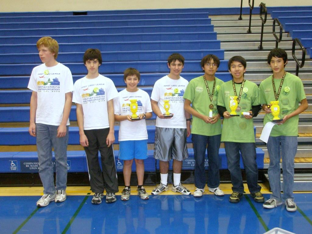 We Ate The Mat and Geek Squad at NorCalFLL 2010